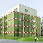Edifici alimentat energèticament per Algues